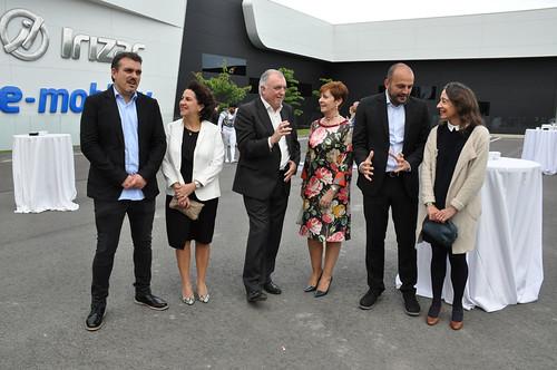 Adunako Irizar e-Movility lantegiaren inaugurazioa