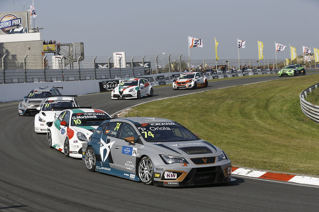 74 ORIOLA Pepe, (esp), Seat Cupra TCR team Oscaro by Campos Racing, action during the 2018 FIA WTCR World Touring Car cup of Zandvoort, Netherlands from May 19 to 21 - Photo Jean Michel Le Meur / DPPI