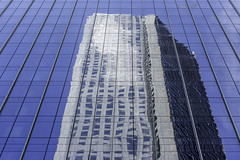 JP Morgan Chase Tower Reflection 2