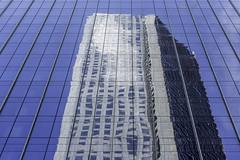 JP Morgan Chase Tower Reflection 2