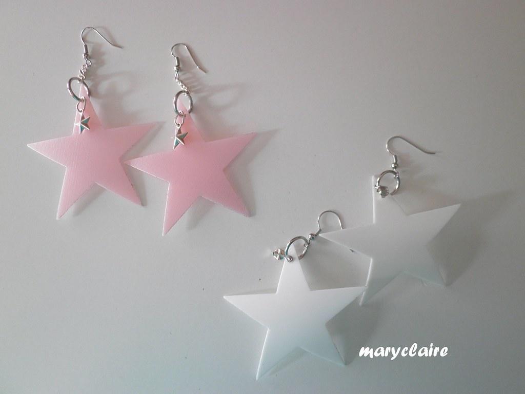 orecchini stella grande