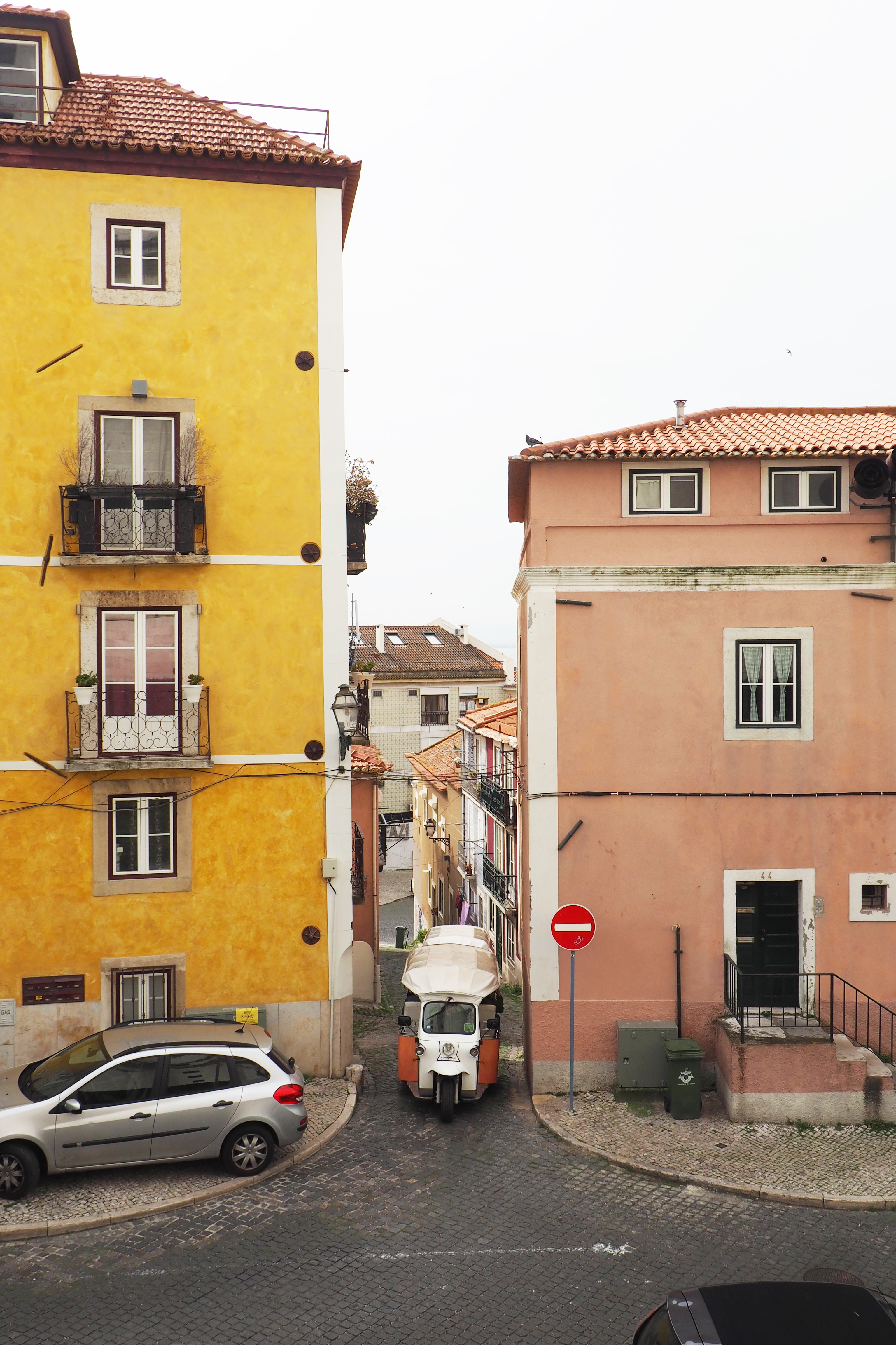 Alfama district lisbon city guide