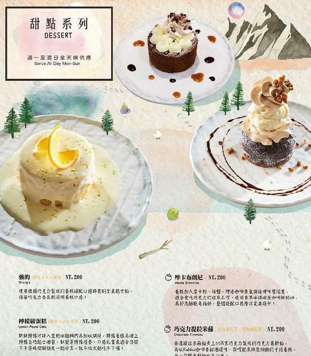貳樓餐廳早午餐義大利麵甜點菜單menu訂位 (5)