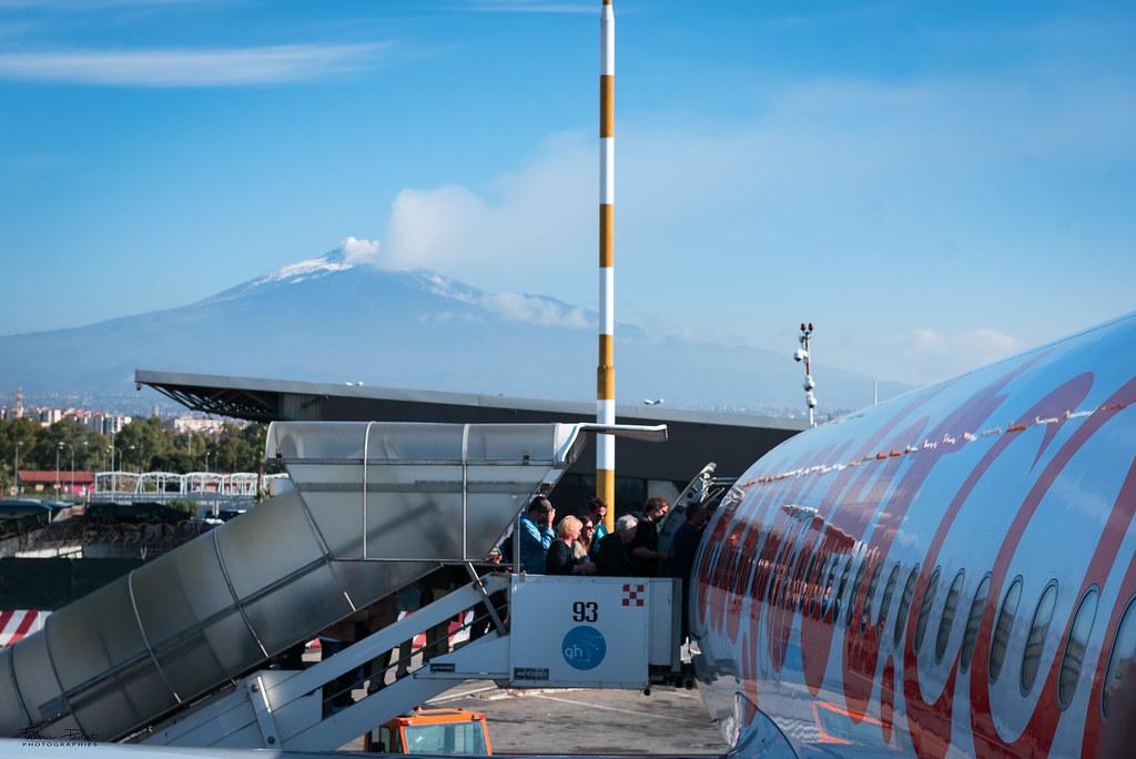 Dernier au revoir à l'Etna
