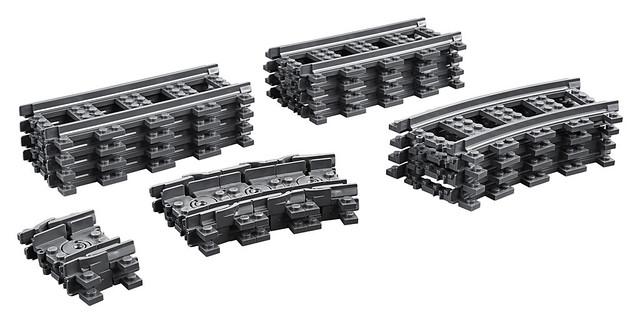 LEGO City 60205 Boîtes de rails supplémentaires