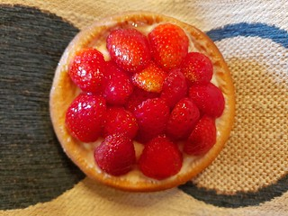 Strawberry Tart from Flour of Life at Love Child Miami