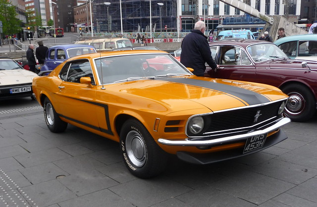 Ford Mustang Coventry Transport, Panasonic DMC-TZ4