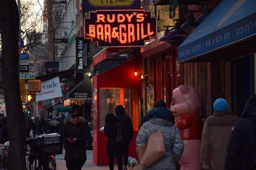 El Rudy's es uno de los bares más antiguos y auténticos de la zona