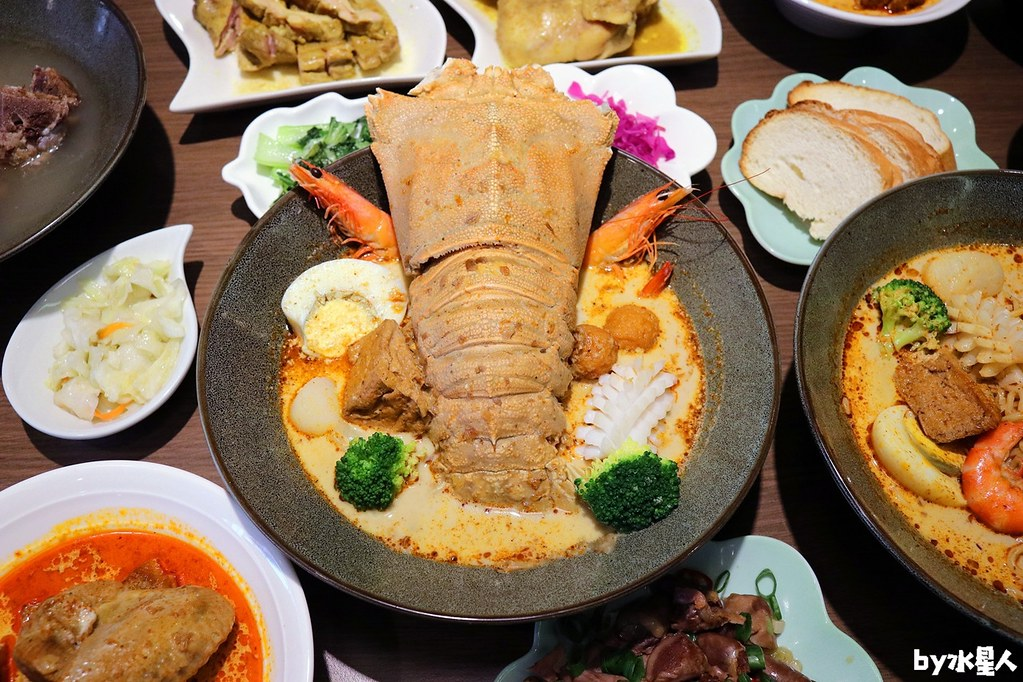 熱血採訪|百元平價道地新加坡美食來台,山水婆一中旗艦店新開幕!隱藏版叻沙麵每日限量供應