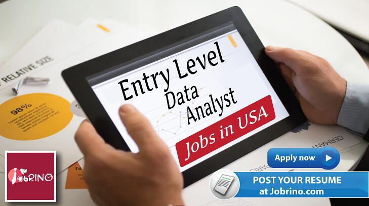 Entry Level Data Analyst jobs in USA | 6018 #EntryLevel #Dat