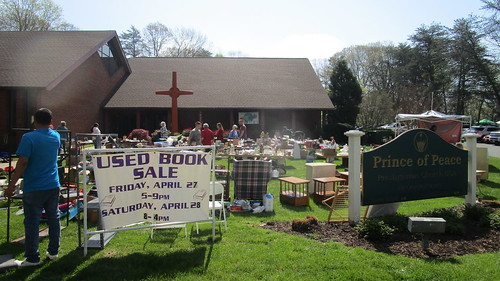 Changing Focus Yard Sale, April 28, 2018