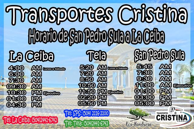 Horario de Cristina SPS LACBA