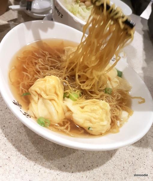 King's Noodle Restaurant wonton noodles