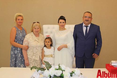 Alana Malanıuk, Ferit Kesen nikah töreni-5