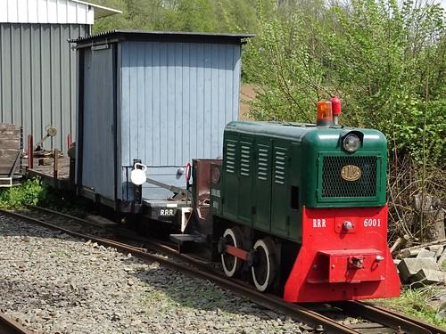 RRR Diesellocomotive N_ 6001.