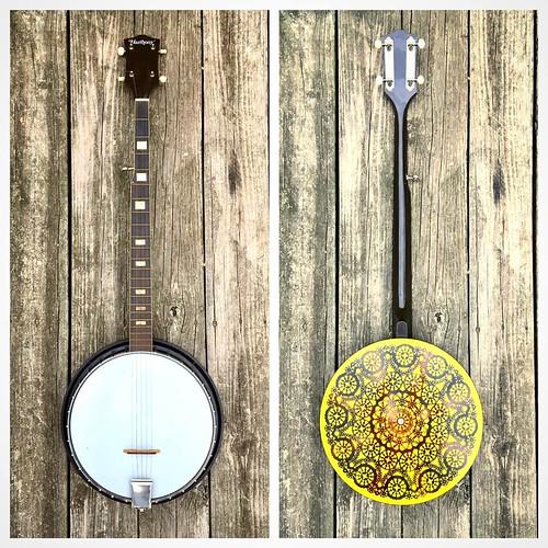1970s Harmony Banjo 5-String
