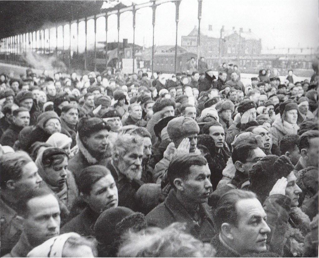 1943. 7 февраля, первый поезд в блокадном Ленинграде
