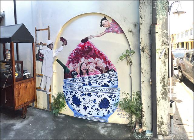 Street art in old Phuket Town