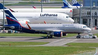 Aeroflot A320-214 msn 8276