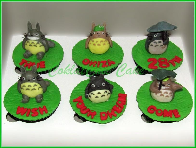 Cupcake Totoro - ORIZA