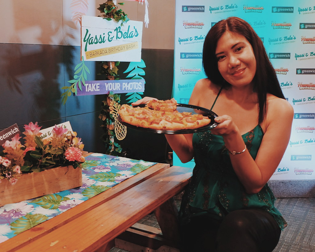 Hawaiian-Themed Birthday & Greenwich Pizza Party for Yassi Pressman & Bela Padilla