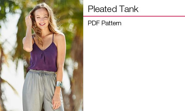 Pleated Tank