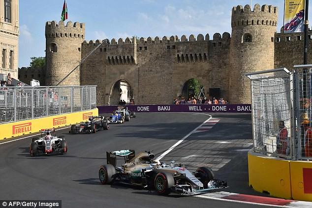 Azerbaijan Grand Prix >> Formula1 2018 Round 4 Azerbaijan Grand Prix Race All Racing In
