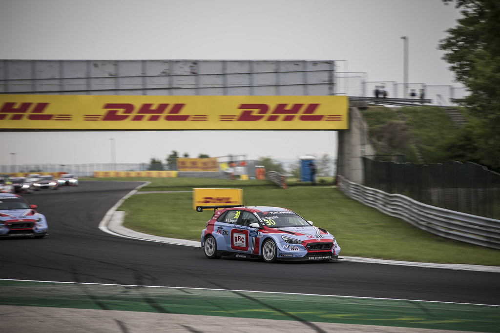 30 TARQUINI Gabriele (ITA), BRC Racing Team, Hyundai i30 N TCR, action during the 2018 FIA WTCR World Touring Car cup, Race of Hungary at hungaroring, Budapest from april 27 to 29 - Photo Gregory Lenormand / DPPI
