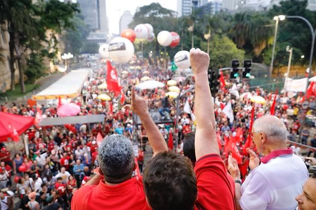 Pela primeira vez, o evento foi organizado coletivamente pelas principais centrais sindicais do país - Créditos: Dino Santos/ CUT-SP
