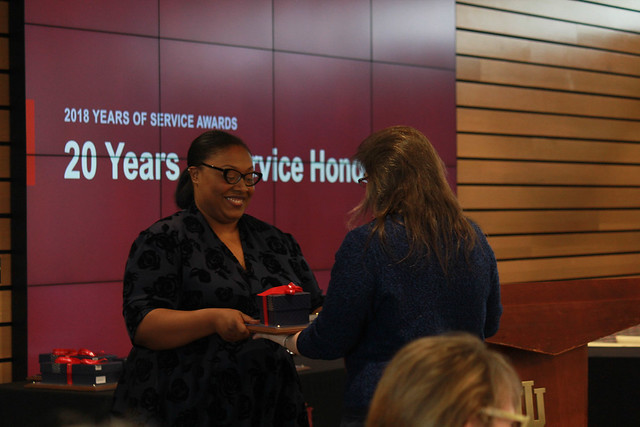 Faculty & Staff Years of Service Awards 2018