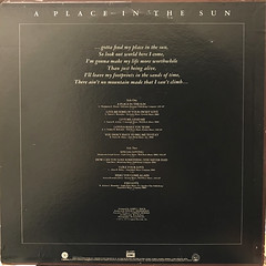 BARBARA ACKLIN:A PLACE IN THE SUN(JACKET B)