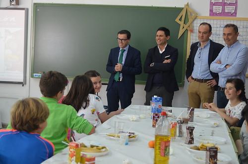 """Clausura XIV Campaña """"Alimentación Saludable"""" en el CEIP Miguel de Cervantes"""