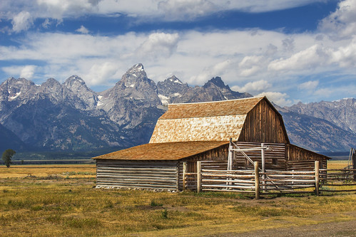 Grand Teton and the Old West