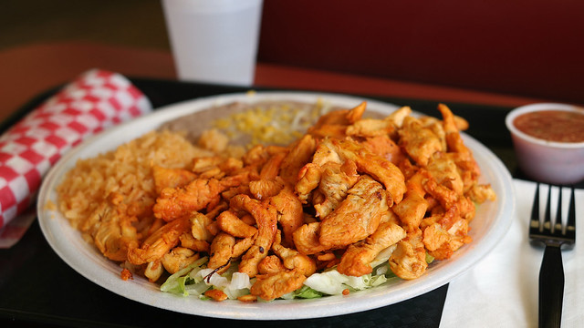 Pollo Adobado from Maria's Mexican Food in Valley Junction West Des Moines, Iowa