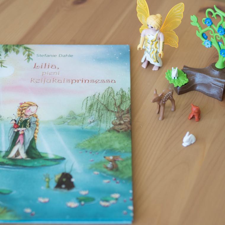 Lilia pieni keijukaisprinsessa kirja