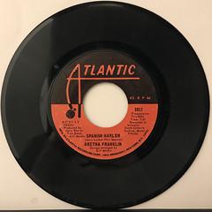 ARETHA FRANKLIN:SPANISH HARLEM(RECORD SIDE-A)