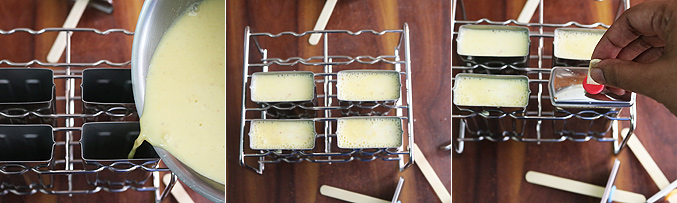 How to make badam popsicles recipe - Step5