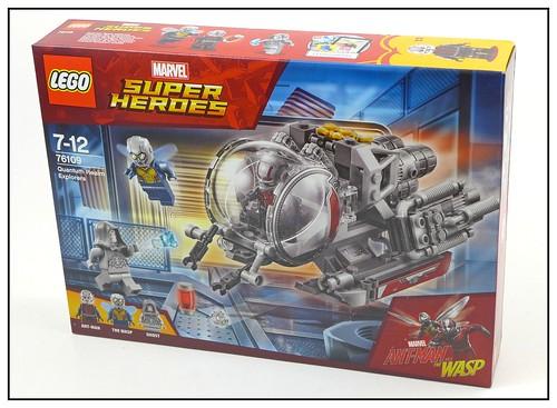 LEGO Marvel Superheroes 76109 Quantum Realm Explorers 01