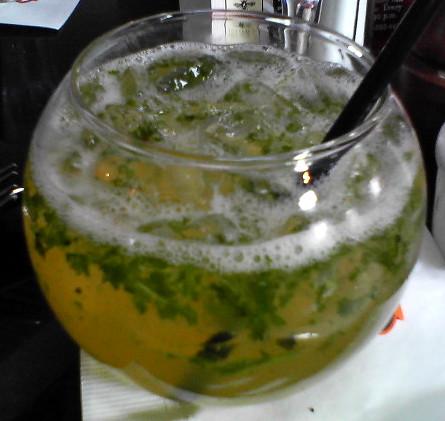 Mini fish bowl mojito flickr photo sharing for Mini fish bowls