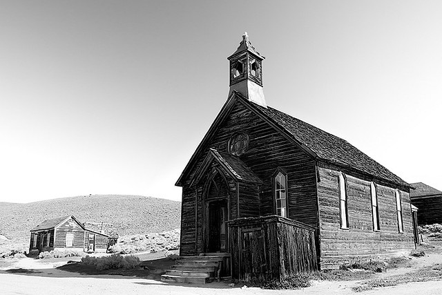 Bodie Methodist Church, 1882