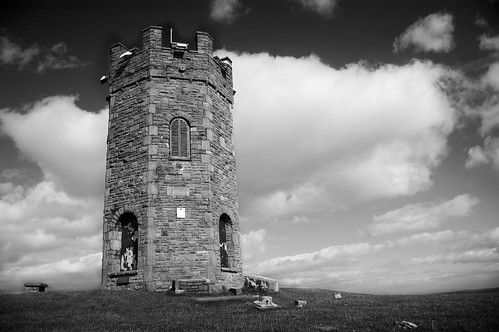 The Folly B&W
