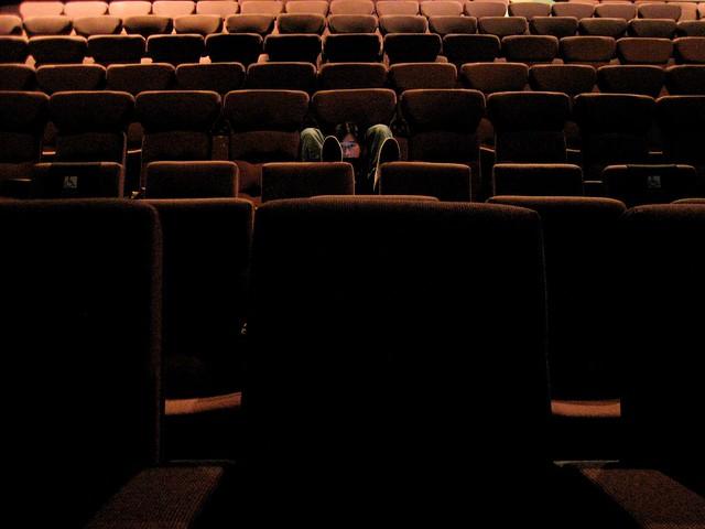 洛城沒人看電影