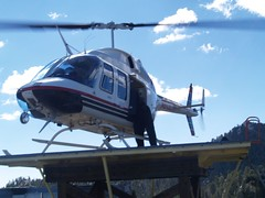 aircraft, aviation, helicopter rotor, helicopter, vehicle, bell 206,