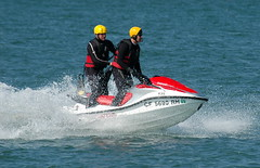 f1 powerboat racing(0.0), motorsport(0.0), motorboat(0.0), vehicle(1.0), sports(1.0), recreation(1.0), outdoor recreation(1.0), boating(1.0), extreme sport(1.0), water sport(1.0), jet ski(1.0), personal water craft(1.0), watercraft(1.0),