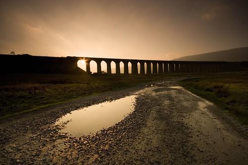 Ribblehead Viaduct Sunset