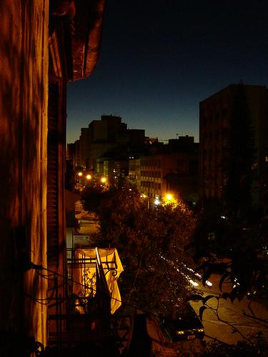 street light luz night postes portoalegre carros noite frommywindow árvores dasacada
