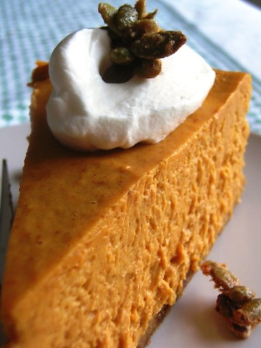 Creamy Pumpkiny Cheesecake