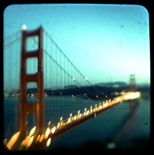 Blurry Vision, Golden Gate Bridge Ahead