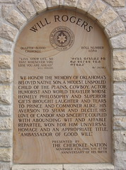 plaque from the Cherokee nation