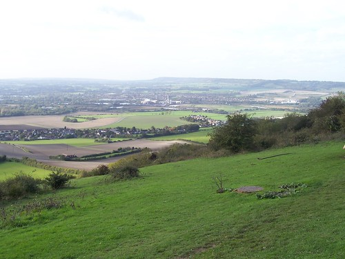 Blue Bell Hill - view of the Downs